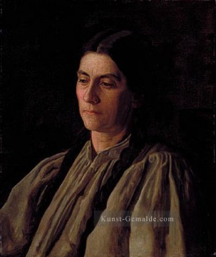 Mutter Annie Williams Gandy Realismus Porträts Thomas Eakins Ölgemälde
